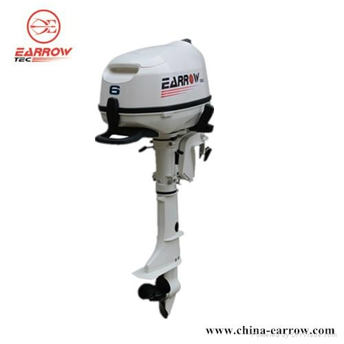 Outboard Motor 6hp 4s Earrow China Manufacturer