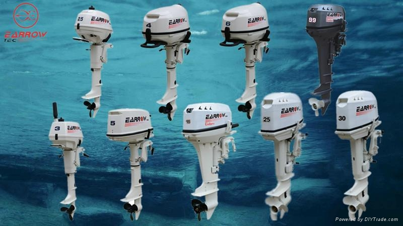 outboard motor 6hp 4s 2