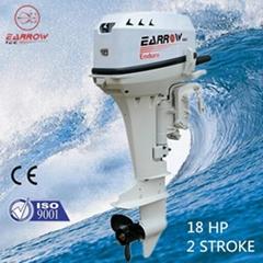 18hp 2stroke outboard motor