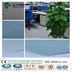 anti-bacterial commercial used heterogenous  flooring rolls mat