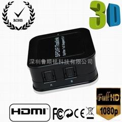 高品高清音频HDMI分配器一进三出音频
