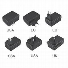 EA1018 18W dc power  travel adapter