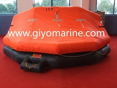 solas approved inflatable life rafts