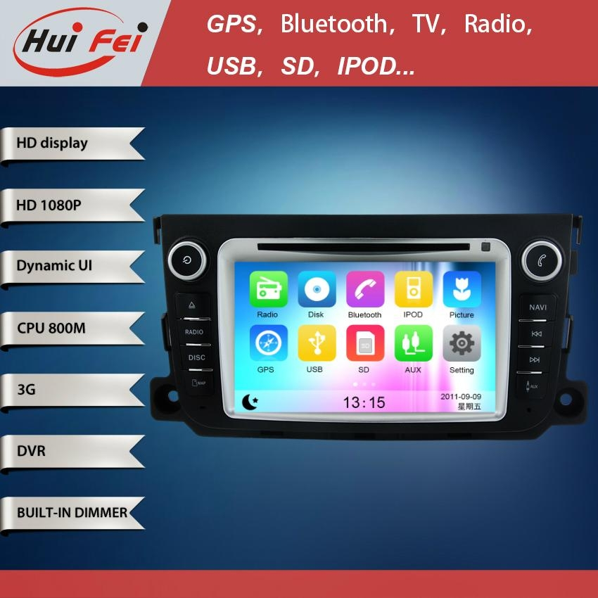 Huifei stereo touch screen in car dvd player with 1080P high definition 2