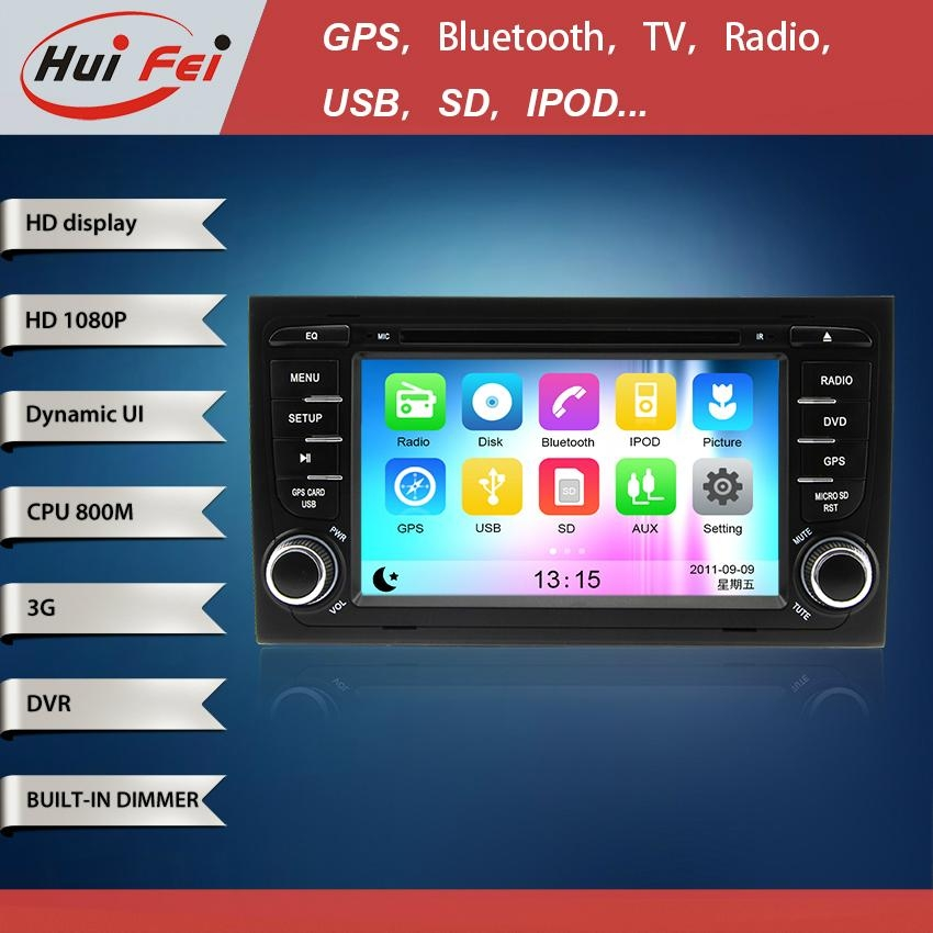 Huifei stereo touch screen in car dvd player with 1080P high definition 5