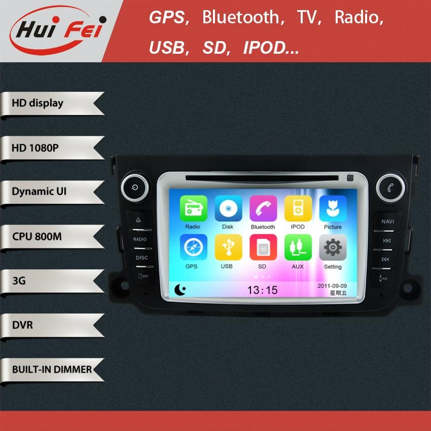 Touch Screen in Car DVD Player GPS NAVIGATION support bluetooth NFC Dual-zoneUSB 1