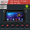 Touch Screen in Car DVD Player GPS NAVIGATION support bluetooth NFC Dual-zoneUSB 2