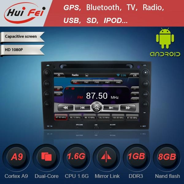 KGL-7091 Android car in dash stereo dvd player with GPS 3G WIFI for Renault 1
