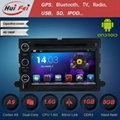 KGL-7302 Android car in dash stereo dvd player with GPS 3G WIFI for ford 1