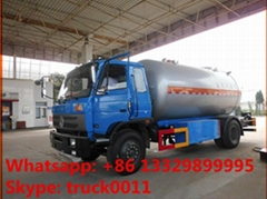 hot sale dongfeng brand 6.3MT lpg gas delivery truck