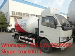 5,500L mobile lpg gas dispensing truck for sale