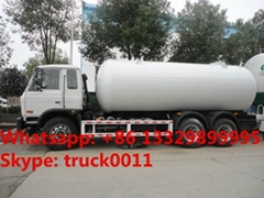 dongfeng 6*4 210hp lpg gas delivery truck for sale