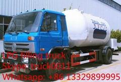 hot sale 15,000L mobile lpg gas dispensing truck