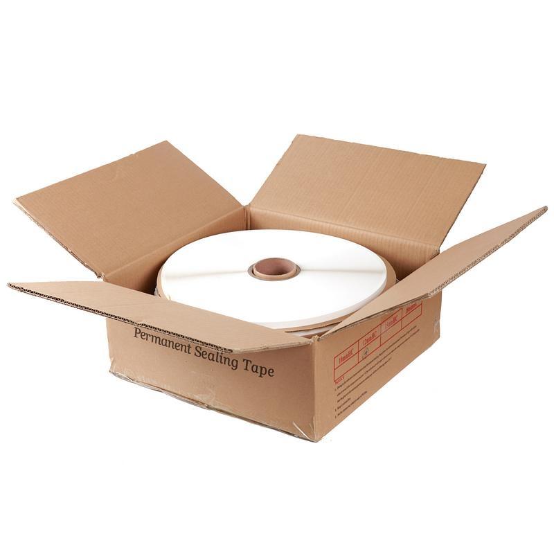 Permanent security bag sealing tape 4