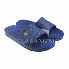 New design nude men beach pvc slipper