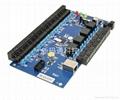 TCP/IP四門雙向門禁控制板