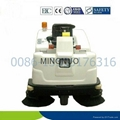garage sweeper ride parking sweeper