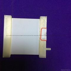 Flat ceramic membrane