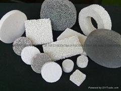 氧化鋁泡沫陶瓷過濾器