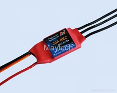 Maytech RC helicopter Brushless ESC 20A Speed Controller for model helicopter