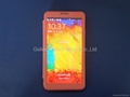 Ultra-thin design phone case for Samsung Note 3 with full view window 1