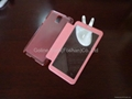 Ultra-thin design phone case for Samsung Note 3 with full view window 3