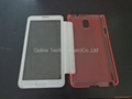 Ultra-thin design phone case for Samsung Note 3 with full view window 4