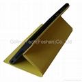 PU leather phone case for MI 3 heat