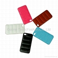 Fashion leather case for iPhone 5S body