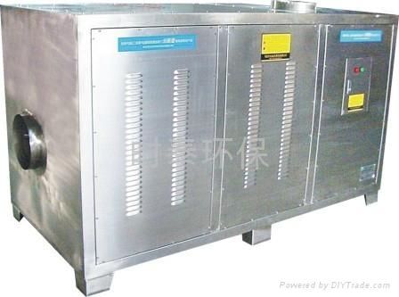 漢陽汽車零部件廠廢氣淨化設備 1