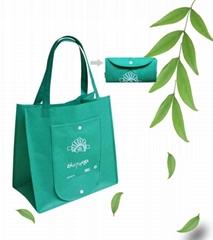 供应无纺布环保袋 定制无纺布购物袋