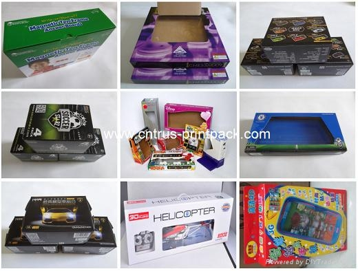 Carton Corrugated PaperBox for Toys Packaging 1