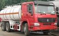 sell HOWO A7 6X4 OIL TANKER TRUCK 25000L