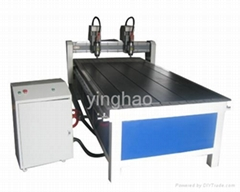 Double Heads CNC Carving Machine YH-1325-2