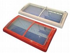 glass door for chest freezer