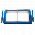 ABS Injection frame chest freezer Glass Door  2