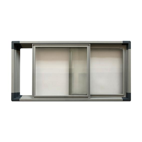 Long Island Freezer PVC Extrusion Frame Glass Door 2