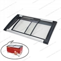ABS Injection frame chest freezer Glass