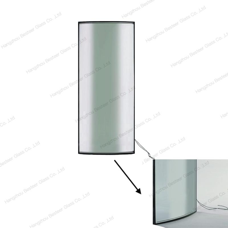 Double Glazed Low-e Tempered Insulated Curved Glass 1