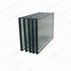 Triple Pane Low-e Tempered hollow Glass with Argon Gas/Filled