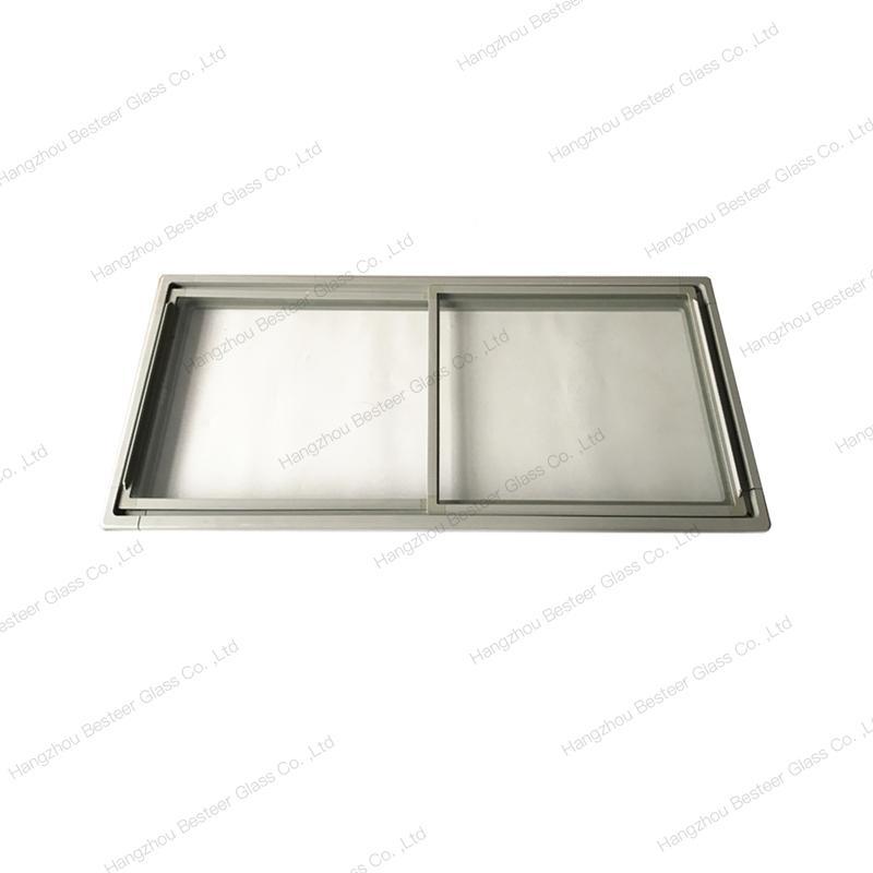 Long Island Freezer PVC Extrusion Frame Glass Door 1