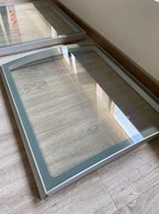Aluminum Profiles Lift-up Glass Door for Display Freezer