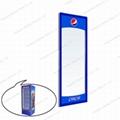 Single Upright Glass Door for Vertical
