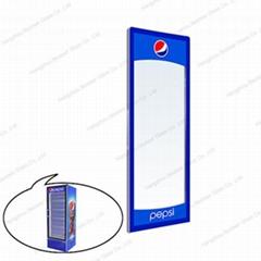 Single Upright Glass Door for Vertical cooler