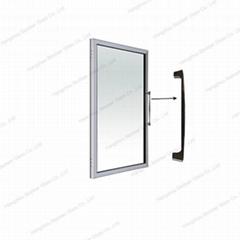 Mini Fridge Heating Tempered Glass Door For Wine Refrigerator