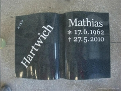 Italy style black book shape G654 gravestone