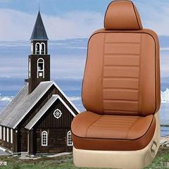綠色環保PU皮棕色座套