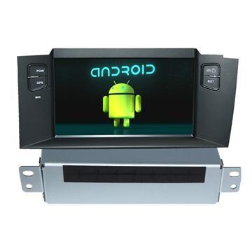 In Dash 2 Din Car Info CITOEN C4L DVD GPS Navigation Wifi 3G Bluetooth iPod  1