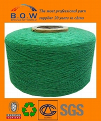 recycle cotton yarn for knitting