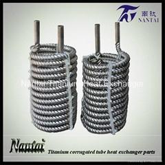 Titanium Seamless Corrugated Tube Tubing